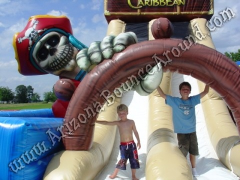 Treasure of the Caribbean Obstacle Course Rental Arizona